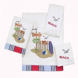 Beach Day Towel Collection - By the Sea Beach Decor