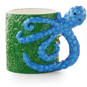 Octopus Coastal Decor Mug - By the Sea Beach Decor