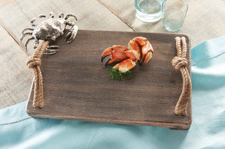 Coastal Kitchen Accessories Crab Cutting Board