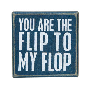 Flip to My Flop Petite Beach Sign