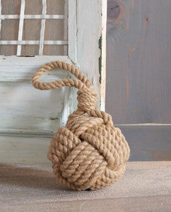 Rope Door Stop - By the Sea Beach Decor