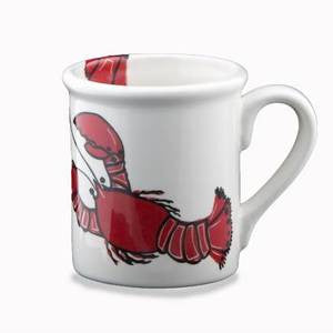 Lobster Mug - By the Sea Beach Decor