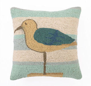 Seagull Beach Accent Pillow