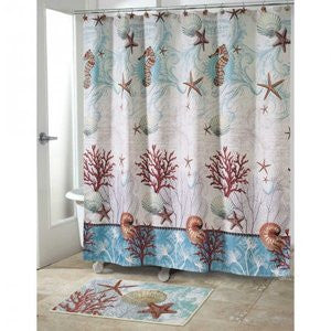 Barbados Beach Decor Shower Curtain - By the Sea Beach Decor