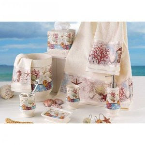 Barbados Beach Decor Bath Accessories - By the Sea Beach Decor