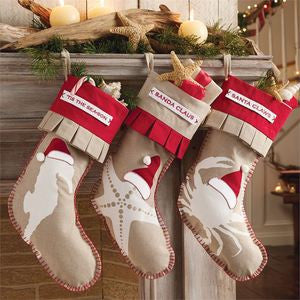 Beach Christmas Stockings