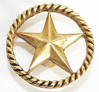 Star in Circle Beach Decor Cabinet Knob