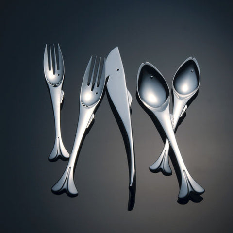 Gone Fishin' Flatware Collection - By the Sea Beach Decor