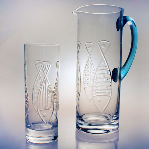 Kipper Glassware - By the Sea Beach Decor