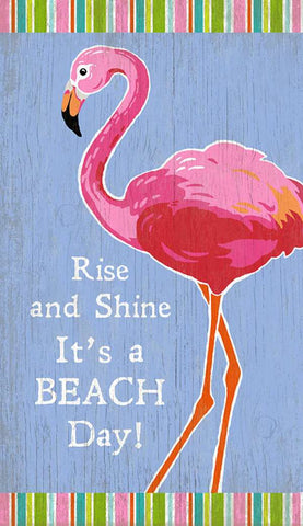 Rise & Shine Wood Print - By the Sea Beach Decor
