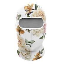 Load image into Gallery viewer, White Roses Balaclava