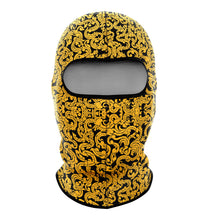 Gold Pattern Balaclava