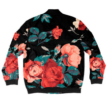 Load image into Gallery viewer, Seamless Floral Bomber Jacket + FREE MATCHING MASK!
