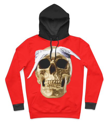 Gold Hustle Hoodie LIMITED EDITION - iamdopeuk forever hustle hoodie hoodie hustle gang 2pac hoodie gold skull hoodie gold skull