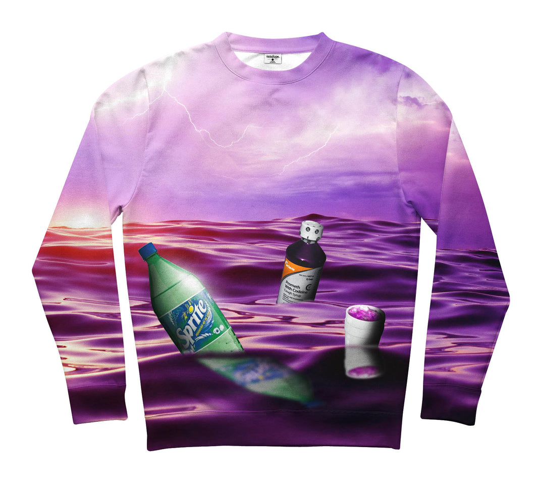 Purple Ocean Sweater NEW!