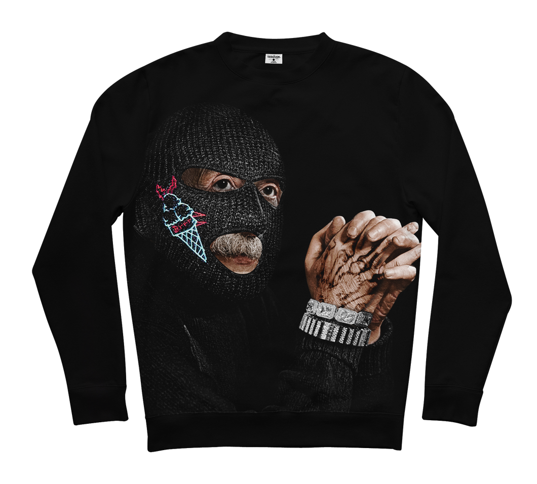 Ski Mask Einstein Sweater