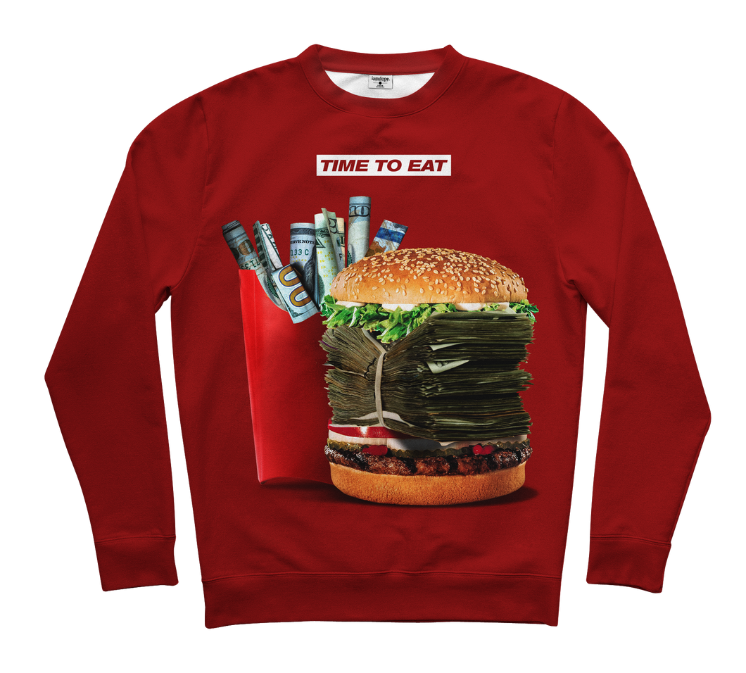 Time to eat Sweater
