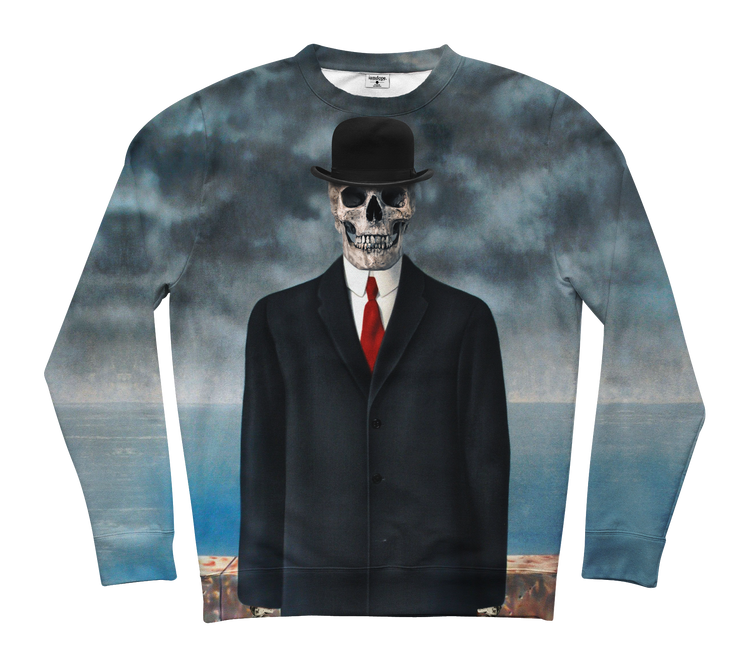 The Skull Of Man Sweater