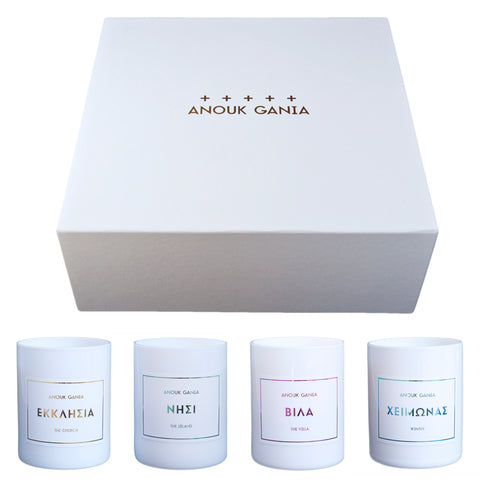 Anouk Gania The Gift Box perfumed candle gift set