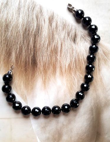 Anouk Gania Jewellery Black Onyx Collar Necklace