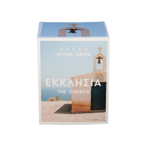 The Church Anouk Gania scented soy candles. Perfumed candle hand made in Australia