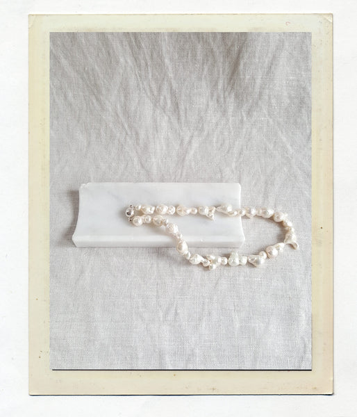 Anouk Gania Baroque Pearl Collar Necklace