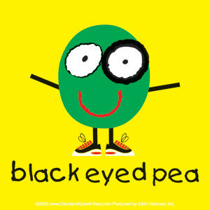Black Eyed Pea Sticker