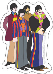 Yellow Submarine Peace Beatles Sticker