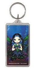 Remove Sorrow Blue Fairy Keychain