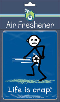 Life is Crap Air Freshener