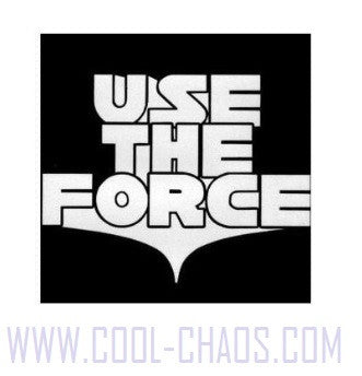 Use The Force Star Wars Sticker for Laptop, Windows