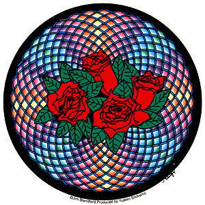 Rose Mandala Sticker