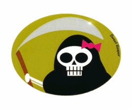 Sweet ill Reaper Girly Skull Sticker