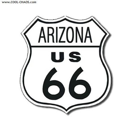 Arizona Route 66 Street Sign
