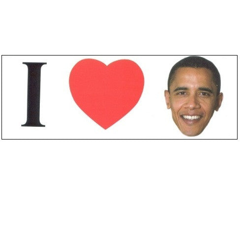 I Heart Obama Bumper Sticker