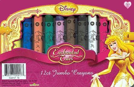 Disney Princess Color Crayons Pack