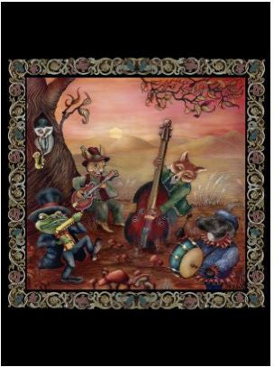 Forest Jam Band Greeting Card