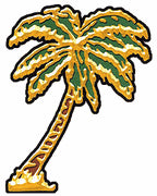 Mini Gold Palm Tree Sticker