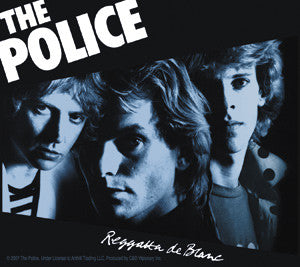 Regatta The Police Sticker
