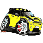 Mini Cooper Sticker