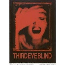 Red Third Eye Blind Sticker