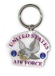 USAF Falcon US Air Force Keychain