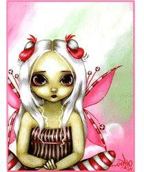 Gothic Peppermint Pretty Pink Fairy Sticker