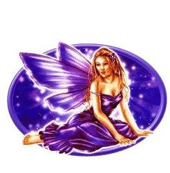 Blonde Memorila Purple Fairy Sticker