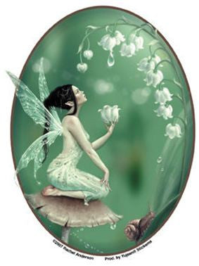 Lily of the Valley Flower Fairy Sticker