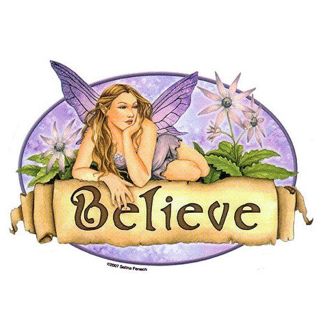 Believe Fairy Sticker