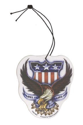 Love it or Leave it Eagle Mirror Ornament