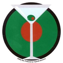 Retro Martini Sticker