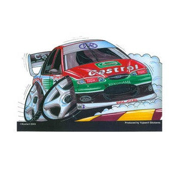 Castrol Falcon Racer Sticker