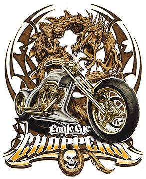 Eagle Eye Chopper Bike Sticker